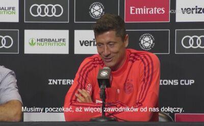 Robert Lewandowski o transferach Bayernu Monachium