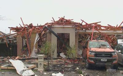 W Christchurch w Nowej Zelandii doszło do eksplozji