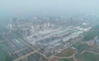 Zabici, ranni i zaginieni w wyniku eksplozji w fabryce w Chinach