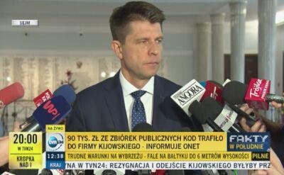 """Petru: sytuacja Kijowskiego """"poprawna prawnie, niepoprawna etycznie"""""""