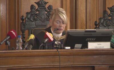 Sędzia Jedynak odczytuje wyrok ws. Amber Gold już drugi miesiąc