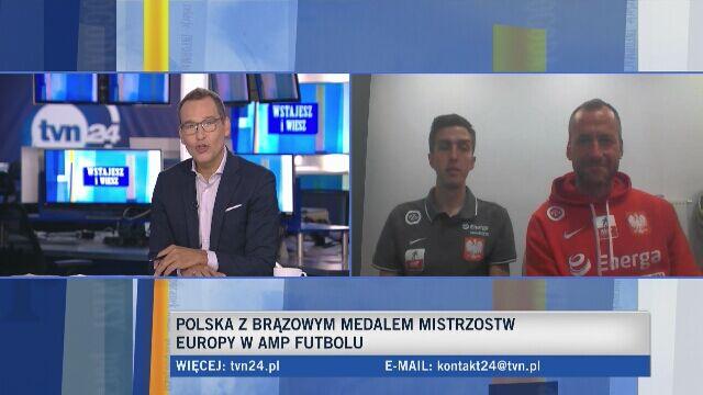 Przemysław Świercz i Artur Kurzawa o brązowym medalu ME w amp futbolu
