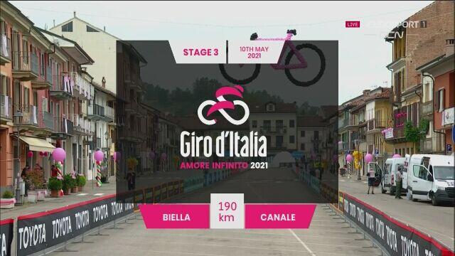 Najważniejsze momenty 3. etapu Giro d'Italia
