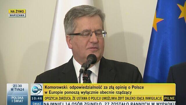 Komentarze po decyzji KE ws. Polski