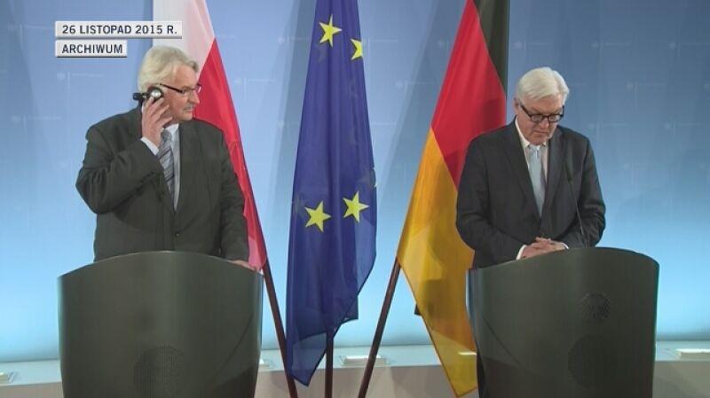 Ministrowie dyplomacji Polski i Niemiec spotkali się w listopadzie w Berlinie