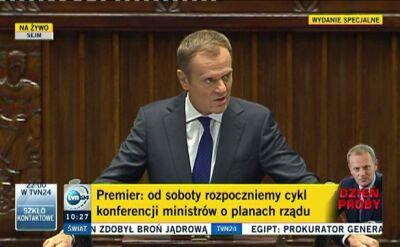 """Premier o swoich wizjach. """"Nagle okazało się, że Polska może nie być chłopcem do bicia"""""""
