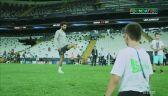 Mohamed Salah zagrał w piłkę z niepełnosprawnym chłopcem