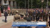 Pułkownik Artur Jakubczyk odbiera nominację na stopień generała brygady. Katowice, sierpień 2019 r.