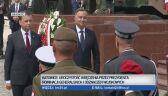 Pułkownik Krzysztof Walczak odbiera nominację na stopień generała brygady. Katowice, sierpień 2019 r.