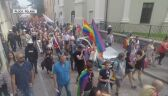 Polish town holds first Pride Parade, opponents protest