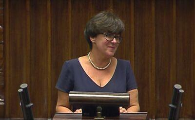 Joanna Kluzik-Rostkowska przedstawia plany MEN