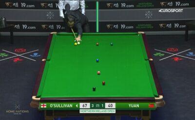 Ronnie O'Sullivan wygrał z Yuanem Sijunem