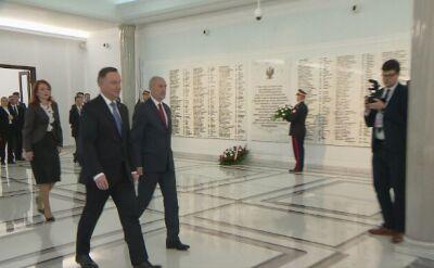 Prezydent Andrzej Duda w Sejmie. Wygłosi przemówienie na inauguracyjnym posiedzeniu Sejmu