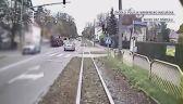Zderzył się z tramwajem i odjechał. Kierowcy szuka policja