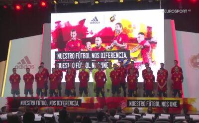 Hiszpania zaprezentowała nowe koszulki