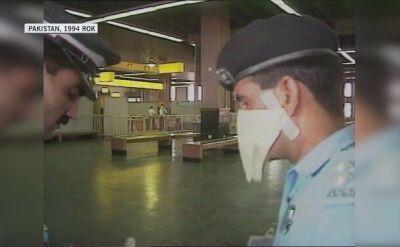 Kontrole na lotniksu w Pakistanie w celu przecidziałania szerzeniu się dżumy z Indii
