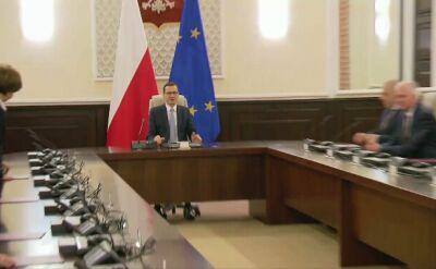Po zaprzysiężeniu rządu rozpoczęło się jego pierwsze posiedzenie
