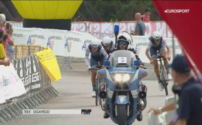 Kolarki Trek-Segafredo wygrały drużynową jazdę na czas inaugurującą kobiece Giro d'Italia