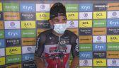 Caleb Ewan po zwycięstwie na 11. etapie Tour de France