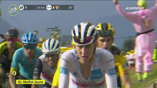 Atak Lopeza na wagę zwycięstwa na 17. etapie Tour de France