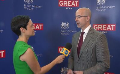 """The reason of visiting is to celebrate the British-Polish cooperation over the years"""