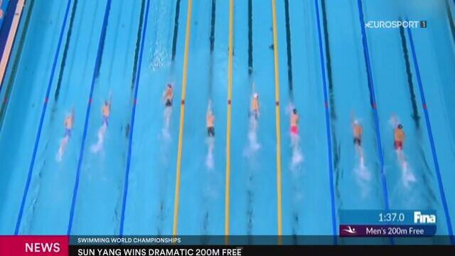 Sun Yang złotym medalistą MŚ