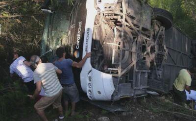 Wypadek autokaru w Turcji. Rannych wielu Polaków