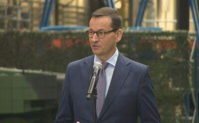 Premier Mateusz Morawiecki w zakładach Bumar-Łabędy. Kontrakt na remonty i modyfikację T-72