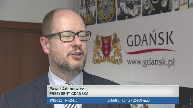 Adamowicz zaprasza Trybunał do Gdańska