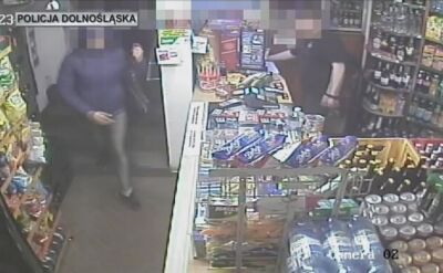 Z bronią napadli na sklep