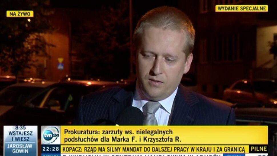 Afera podsłuchowa: Marek F. i Krzysztof R. na wolności