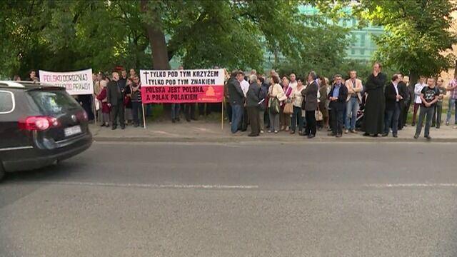 """Protestują przeciwko """"Golgota Picnic"""""""