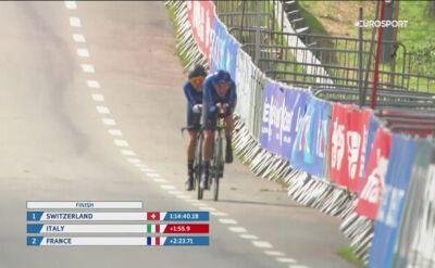 Niemcy mistrzami Europy w drużynowej jeździe na czas ekip mieszanych
