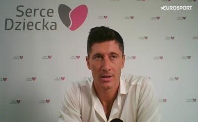 Lewandowski: zawsze skrywałem swoje emocje