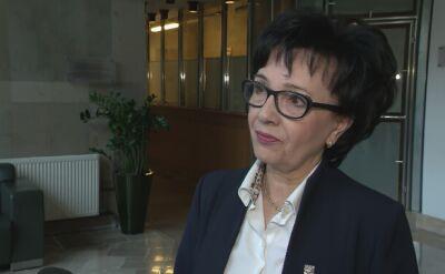 Elżbieta Witek: będą kandydatką na marszałka Sejmu