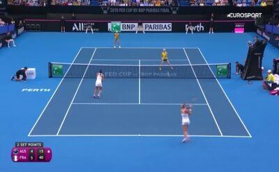 Fed Cup dla Francji! Mladenović i Garcia wygrały finał z Barty i Stosur