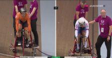 Holendrzy wygrali sprint drużynowy w Pucharze Świata w Glasgow