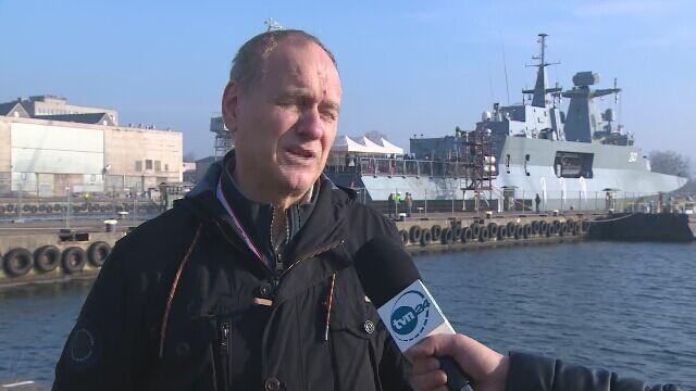 Kmdr Maksymilian Dura: okręt w przyszłości będzie można dozbroić