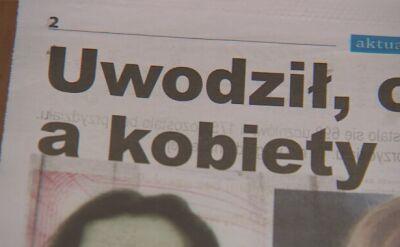 O sprawie zaginięć pisały lokalne media