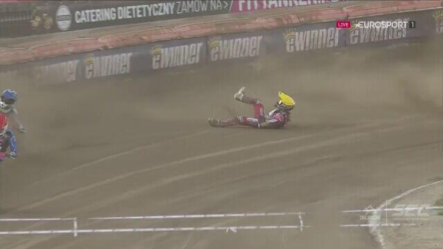 Wypadek Nickiego Pedersena i Andrieja Kudriaszowa
