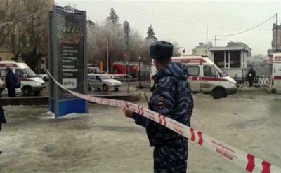 Wybuch w trolejbusie w Wołgogradzie. Co najmniej 10 ofiar