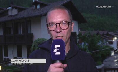 Adam Probosz podsumowuje 16. etap Giro