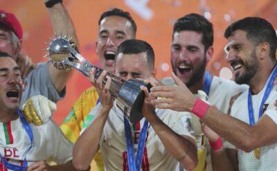 Portugalia mistrzem świata na plaży
