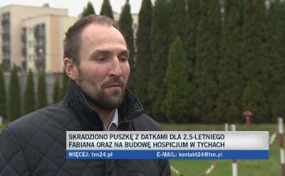 Około 30-letni złodziej puszki uciekł fordem mondeo