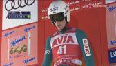 Skok Piotra Żyły w 1. serii niedzielnego konkursu w Niżnym Tagile