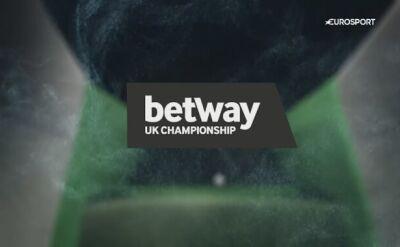 Najważniejsze wydarzenia trzeciego dnia UK Championship
