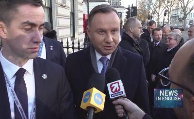 Poland's Duda says hopes to agree with Turkey to unblock NATO plans