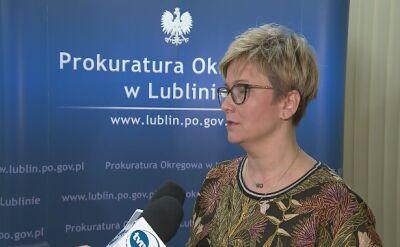 Prokuratura w Lublinie o zarzutach dla matki