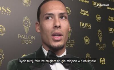 Virgil van Dijk po gali France Football