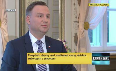 Prezydent Duda o projekcie ustawy ws. zakazu handlu w niedziele